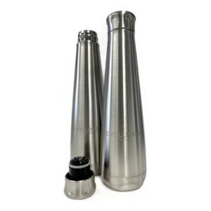 Evolution Stainless Steel Bottle – 16 oz. – Laser Engraved