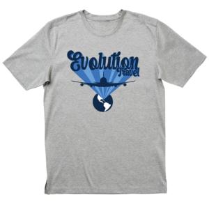 Evolution First Class Heather Grey T-Shirt