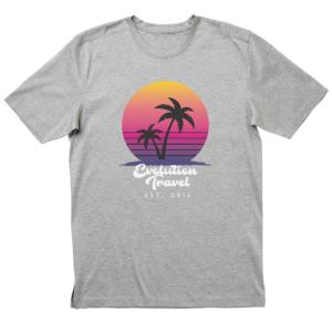 Evolution Sunset Heather Grey T-Shirt