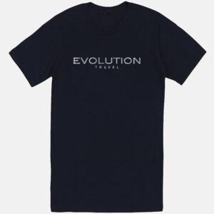 Evolution Glitter Logo Tee