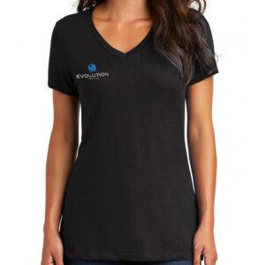 Evolution Women's Pocket Logo V-Neck