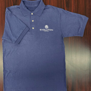 Evolution Embroidered Polo (Navy)