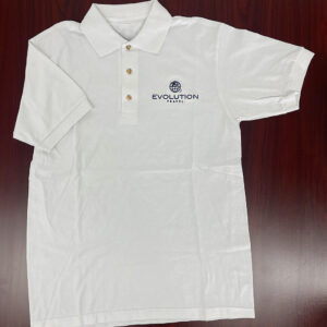 Evolution Embroidered Polo (White)